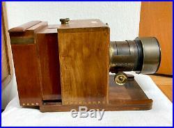 1864 Dallmeyer Sliding Box Wet Plate Camera with 2B Dallmeyer Lens