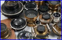 27 Vintage Lenses Replacements for Vintage Wood Cameras missing Lens or Prop