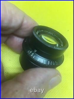 47mm Taylor Hobson Cooke Cinema lens NEW OLD STOCK