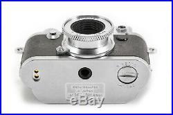 (49) Minox Leica IIIf Type 60500 miniature camera with15/5.6 lens, IB, case, box