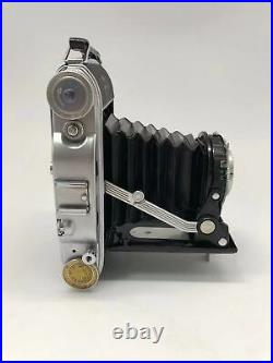 AGFA Record III Folding Camera with Solinar 14.5/105 Lens 6X9 Film Tested