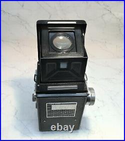 AIRES REFLEX Twin Lens Vintage TLR Camera WithOriginal Case & Instruction Manual