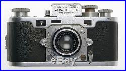 ALPA STANDARD LEICA TYPE RANGEFINDER CAMERA ANGENIEUX 12.9/50mm LENS RARE 35mm