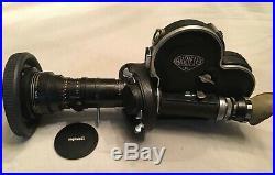 ARRIFLEX 16mm CAMERA with P. Angenieux Paris lens + accessories