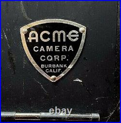 Acme 35mm Motion Picture Camera withZoom lens, motor, and magazine, Model 35P