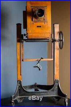 Antique Century Graflex Master Studio Camera, Stand, Paris Dorlon Lens
