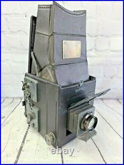Antique Folmer Graflex Series B Camera Pack & Roll Adapter Kodak Lens + More