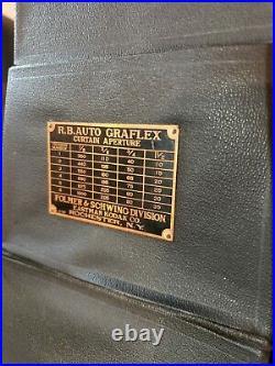Antique Graflex RB Series D Folding Camera Curtain Aperture Anastigmat f4.5 Lens