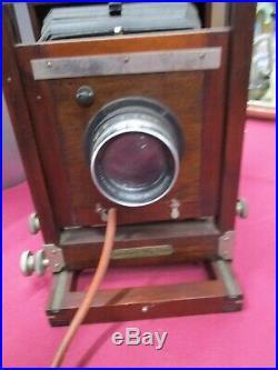 Antique Gundlach Korona Camera Body withBausch&Lomb Lens