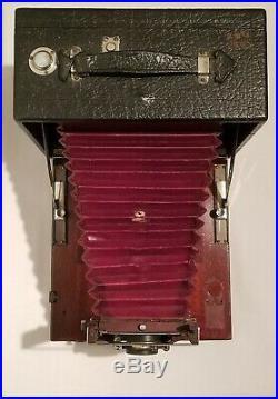 Antique Gundlach Manhattan Optical Co Folding Camera, Gundlach TR II 14 Lens