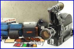 Arri Arriflex 16 SR II SRII SR2 + Vario Sonnar 10-100mm Lens CASE From JAPAN J02