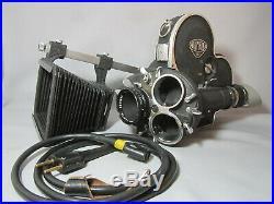 Arriflex 16mm Movie Camera, Schneider 1.5/25mm Lens, Motor, Matte Box, Cable