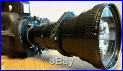 Arriflex 16mm cine camera + angenieux 12-240mm zoom lens