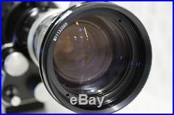 BEAUTY! BOLEX SBM 16MM MOVIE CAMERA WITH 16-100mm 1.9f lens READY TO FILM