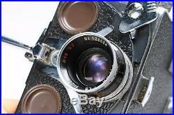 BOLEX H16 REFLEX REX-3 16MM MOVIE FILM CAMERA With RX PIZAR 25MM F/1.5 LENS