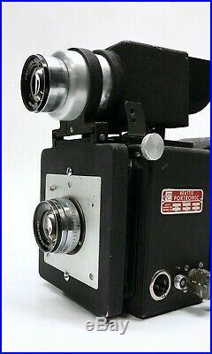Beattie Portronic Vintage Mass Portrait High Volume Camera w / Lens