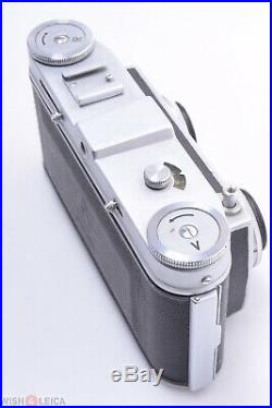 Belca Veb Belplasca 35mm Stereo Camera 37.5mm 3.5 Zeiss T Tessar 1q Lenses