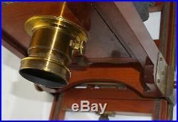Blair Camera Co. Boston 5x7 Reversible Back Camera with Darlot Brass Lens