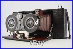 Blair Camera Hawk-Eye Stereo Camera 3.5x3.5 Inch With Goerz Dagor 120mm f/6.8 Lens