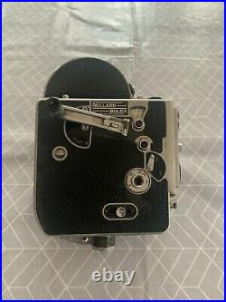 Bolex 16mm camera with 1.4 25mm lens switar