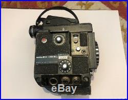Bolex H16 El Mk. 2 1978 movie Camera Vario Switar Lense + Accessories