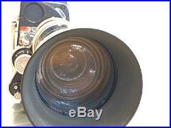 Bolex H16 REX Camera withKern Paillard Vario-Switar 18-86mm f/2.5 Lens and Case