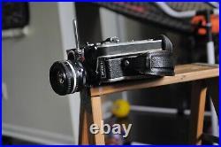 Bolex H16 Ref 1 Camera body with a lenses