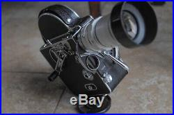 Bolex H16 camera body with Sony 16-64mm F2 Lens