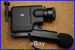 Braun Nizo integral 5 super8 movie camera f1.2/ 8 40mm lens +accessories