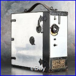 Burke & James 35mm Universal Cine Hand Crank Camera with B&L 50mm Lens EX+++
