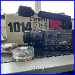 CANON 1014XL-S Super 8 Film Movie Camera withadditional lenses TESTED WORKING