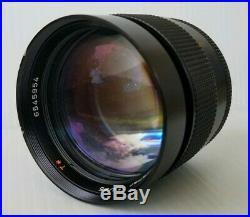 CARL ZEISS Vintage Camera Portrait Lens Planar T 85mm F/1.4 Contax Mount RARE