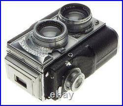 CONTAFLEX ZEISS IKON 35mm TLR RARE 86024 CAMERA SONNAR f=5cm LENS 2/50mm