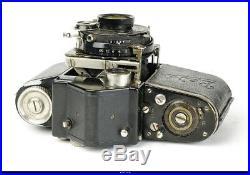 Camera Beier Beira II 35mm rangefinder camera. Okula Voigtlander Heliar 55 lens