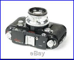 Camera Black Robot Royal 36 with Lens Zeiss Sonnar 2/50mm