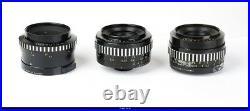 Camera Edixa Rex D Lens Shneider 28mm 35mm 50mm 50mm 50mm 135mm Set