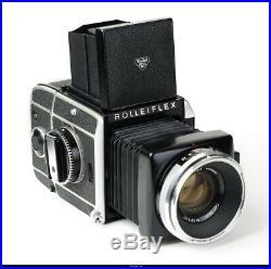 Camera Rollei Rolleiflex SL66 With Lens Zeiss Planar 2.8/80mm Mint