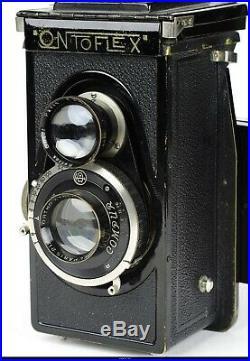 Camera TLR Cornu Ontoflex Paris With Kynor f3.5 90mm lens