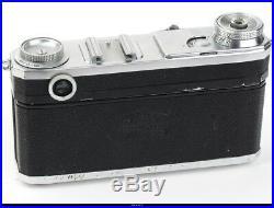 Camera Zeiss Ikon Contax II No. E9466 With Lens Zeiss Tessar 3,5/5cm EX Box