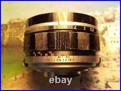 Canon 7 Rangefinder 50mm F0.95 lens, Canon metal cap Sony Nikon Fujifilm Pentax
