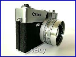 Canon Canonet QL17 Canon Lens SE 45mm 11.7