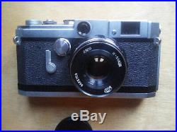 Canon VL2 Rangefinder Camera with N-61 55mm Lens Film Tested Near Mint
