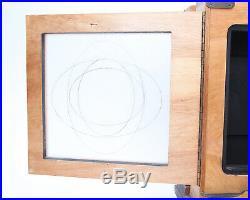 Century 8 x 10 Wooden Studio View Camera, 300mm Lens, 8x10 & 5x7 Film Holder