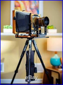 Chamonix View Camera & Vintage Dallmeyer 3B Lens