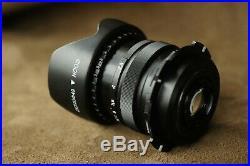 Cinema 4K Mir-1 37mm f/2.8 PL-Mount hood Vintage lens black for cameras Red