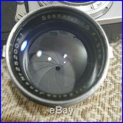 Contax iia 35mm rangefinder + 50mm F/1.5 Carl Ziess Sonnar Vintage Lens