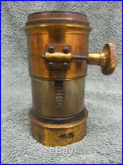 Darlot Paris Large Brass Petzval Camera Lens Rack & Pinion Vintage