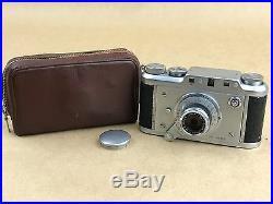 Ducati Sogno OR 6401.1 MicroCamera with 35mm f/2.8 Vitor Lens Rare Subminiature