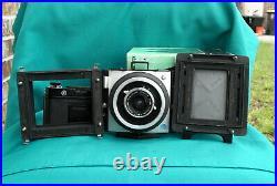 EX-Graflex XLSW Medium Format Camera with Schneider Super Angulon 47mm f8 Lens