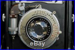 EX-Vintage Graflex Speed Graphic 4X5 camera & Kodak Ektar 127mm/f14.7 lens